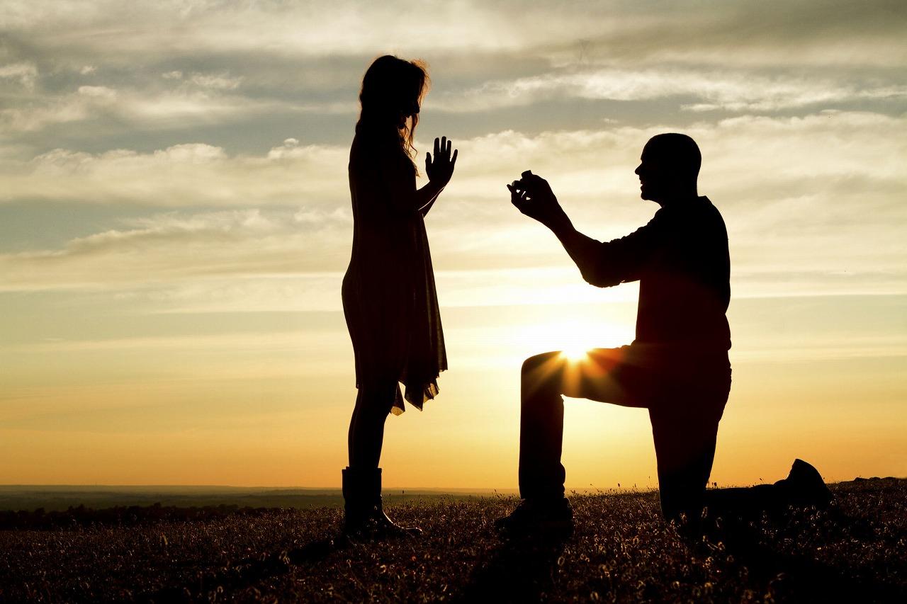 プロポーズ、婚約指輪、富山、オーダーメイド