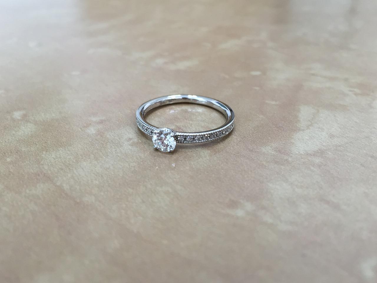 婚約指輪、プロポーズ、エンゲージリング、富山、アンティーク、シェールラブ