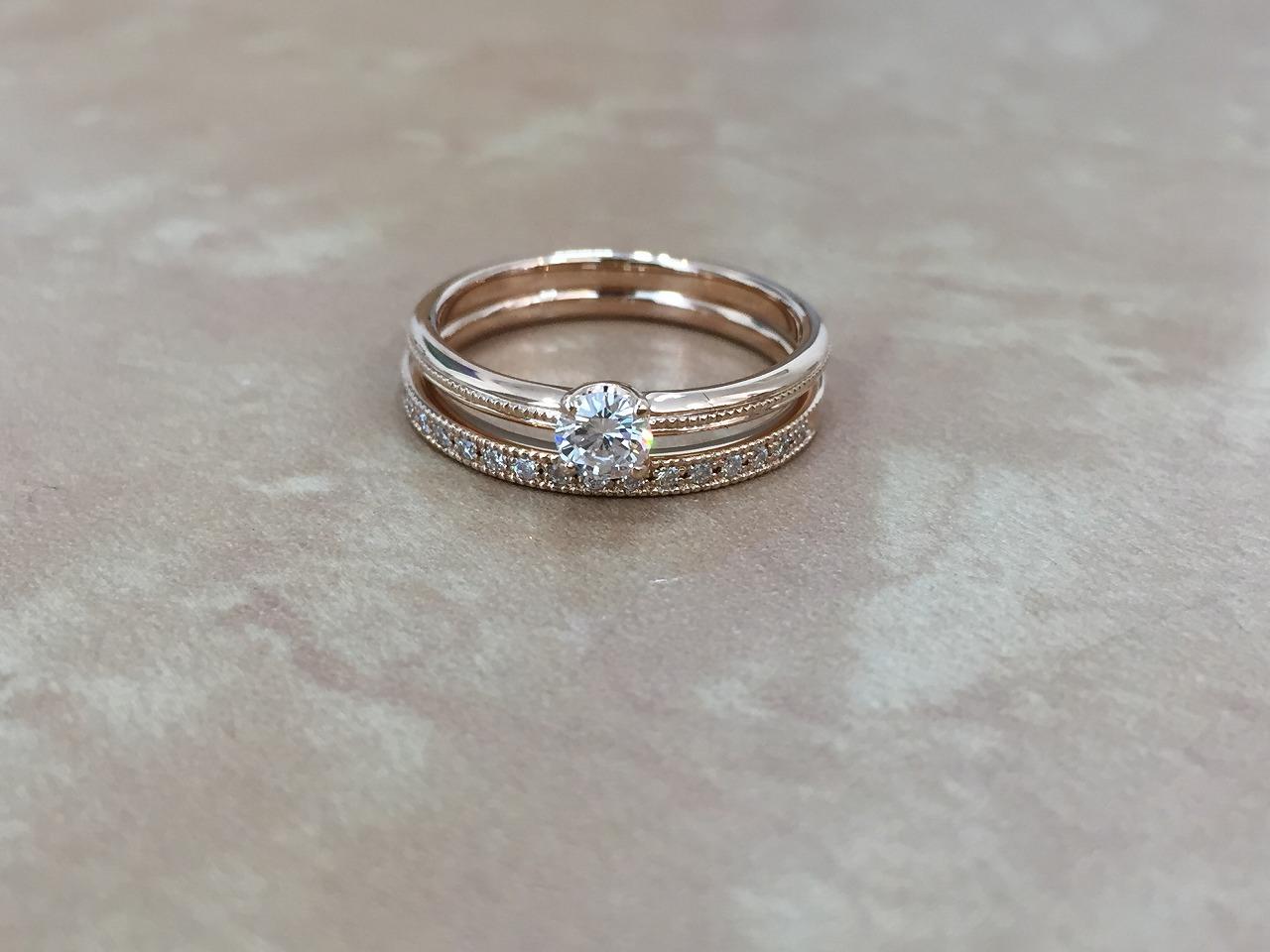 結婚指輪、婚約指輪、シェールラブ、富山、プロポーズ