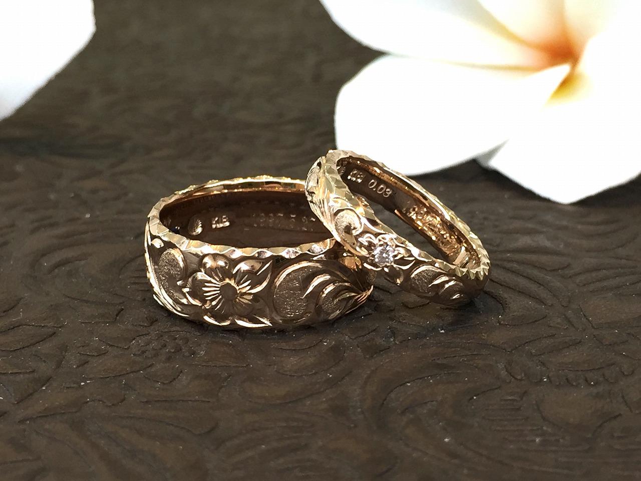 マカナ、ハワイアンジュエリー、富山、結婚指輪、婚約指輪、オーダーメイド