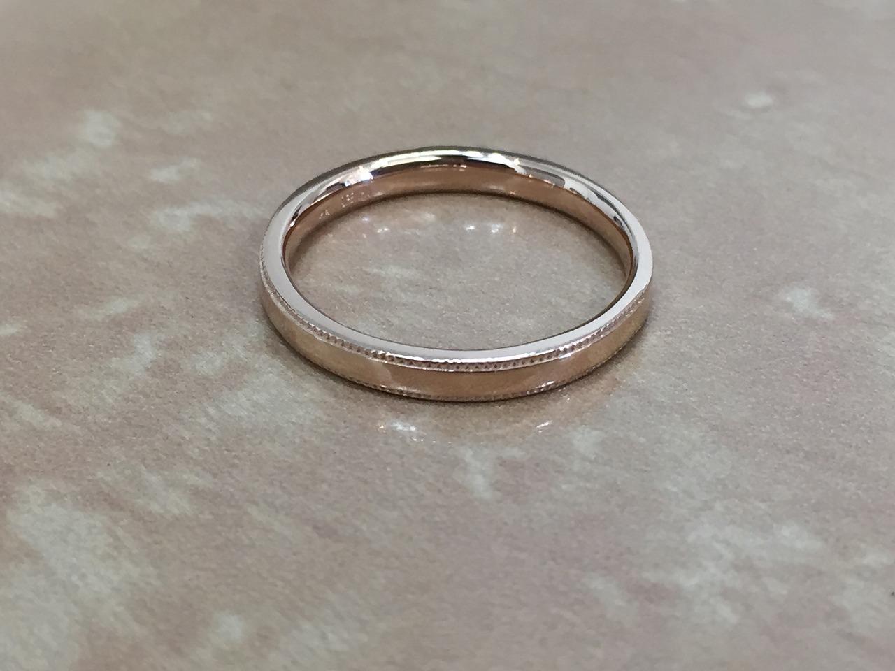 結婚指輪、オレッキオ、オーダーメイド