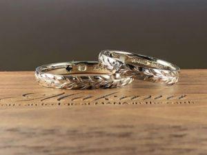 ハワイアンジュエチー 結婚指輪